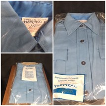NEW Elbeco Tropical Perma Press Uniform Shirt Size 28 Long Sleeve Medium... - $14.99