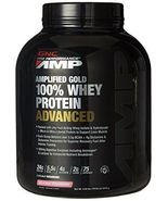 GNC Pro Performance AMP GOLD 100% WHEY PROTEIN ADVANCED (Delicious Straw... - $91.00