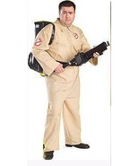 PLUS SIZE GHOSTBUSTERS ADULT JUMPSUIT COSTUME - $55.00