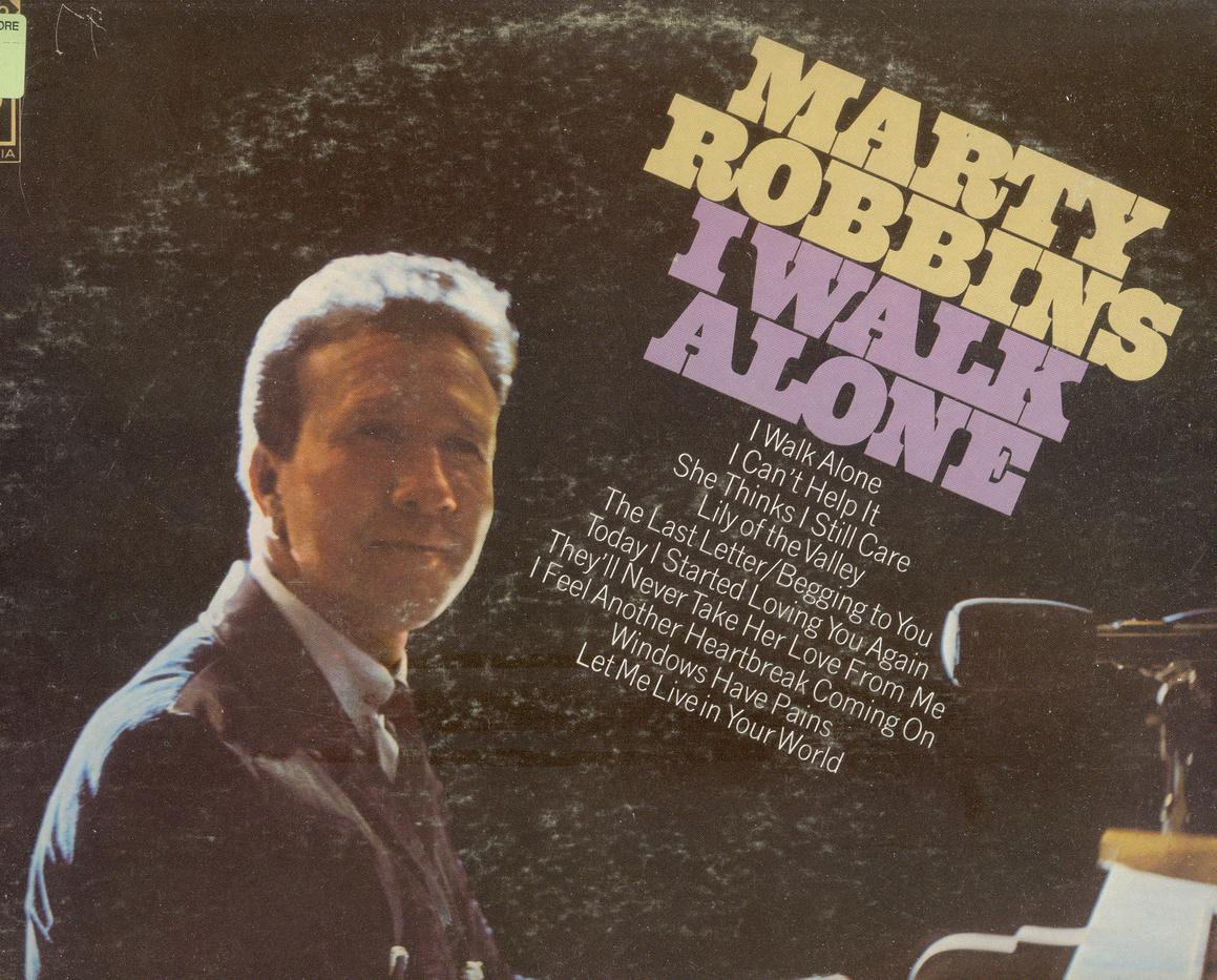 Marty robbins i walk alone