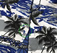Men's Hawaiian Tropical Beach Party Button Up Casual Dress Shirt w/ Defect 2XL image 4