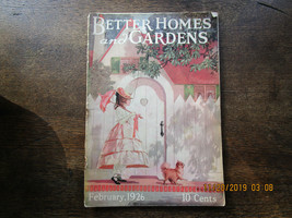 Antique Better Homes and Gardens Magazine 1929 Feb. Great ADS!! - $9.99
