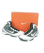 New Deadstock Nike Hyperize TB Basketball Sneakers Shoes Green White Men... - $138.55