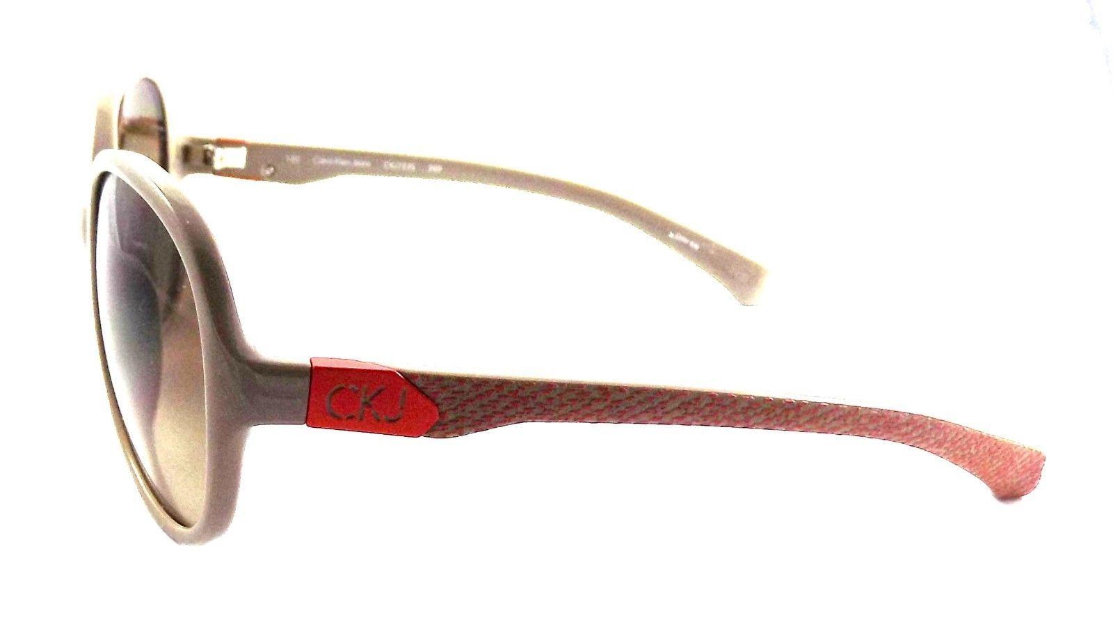 Calvin Klein Jeans Sunglasses CK 723S 209 58x16x130 Beige Red / Brown Gradient