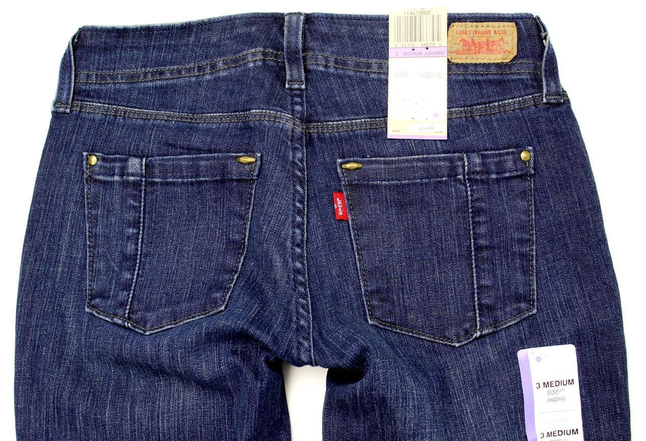 NEW NWT LEVI'S 535 PREMIUM CLASSIC JUNIOR'S SKINNY JEAN LEGGINGS 114470002
