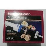 Super Shooter Cordless Cookie Press Model 80000 Hamilton Beach NEVER USE... - $39.59