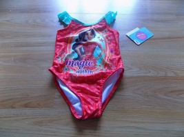 Size 2T Disney Princess Elena of Avalor One-Piece Swimsuit Swim Bathing ... - $15.00