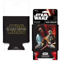Star Wars Episode VII: The Force Awakens Movie Poster Drink Can Cooler, NEW - $5.94