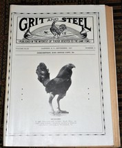 XRARE: Sept. 1947 Grit and Steel Magazine - cock fighting game fowls - $35.00