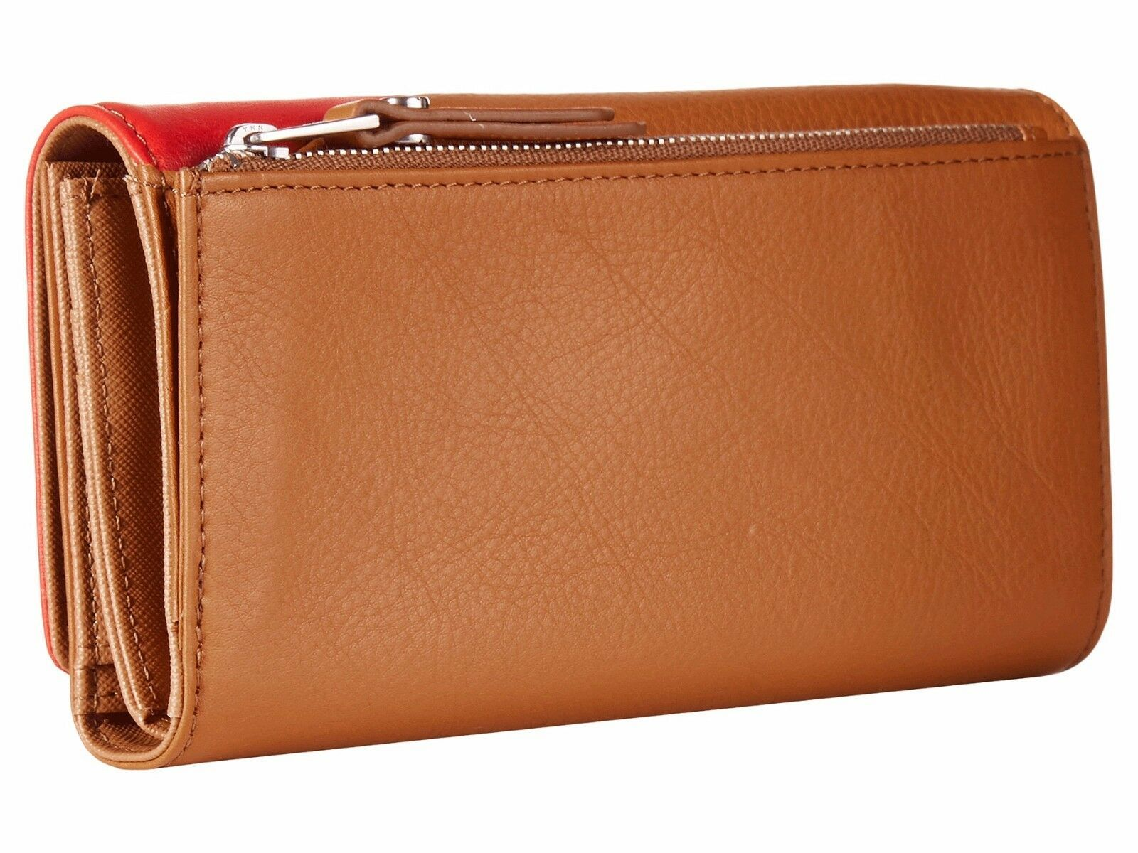 New Fossil Dawson Women Flap Leather Clutch Variety Color image 7