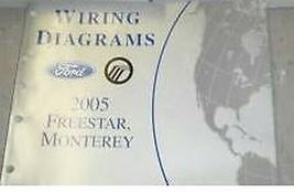 2005 Mercury Monterey & Ford Freestar Furgone Elettrico Cavi Schema Manu... - $17.77