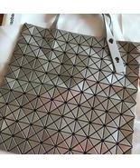 ISSEY MIYAKE Baobao Tote bag Silver New article unused Made in Japan - $600.99