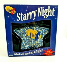 Find It! Game Starry Night Star Shaped Contained Adventure Glow in Dark ... - $44.99
