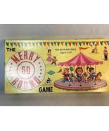Vintage Merry Go Round Board Game Warren Built Rite Games 100% Complete - $17.00