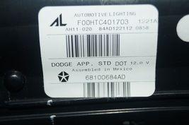 2013-15 Dodge Dart Trunk Lid Center Tail Light Taillight Lamp Panel NON-LED image 10