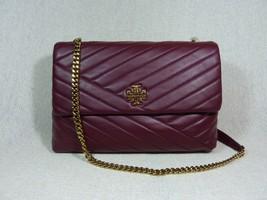 NWT Tory Burch Claret Kira Chevron Convertible Shoulder Bag - $528 - $522.72
