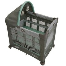 Baby Crib Portable Playard Travel Bassinet Infant Playpen Baby Pack N Pl... - $171.16