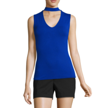 City Streets Knit Tank Top Juniors Size XL New Superhero Blue - $7.99