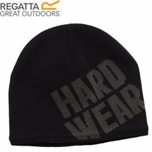 Regatta Hut Beanie Squarepoint warm Arbeitskleidung schwarz Winter Fitne... - $19.73