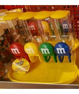 1 M&M's chocolate CANDY DISPENSER 4 slots Red yellow Green Blue Great Sw... - $74.30