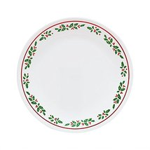 "Corelle Livingware Winter Holly 10.25"" Plate - $36.62"