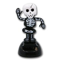 Skeleton Solar Powered Dancing Figure for Halloween or Over the Hill - $9.78