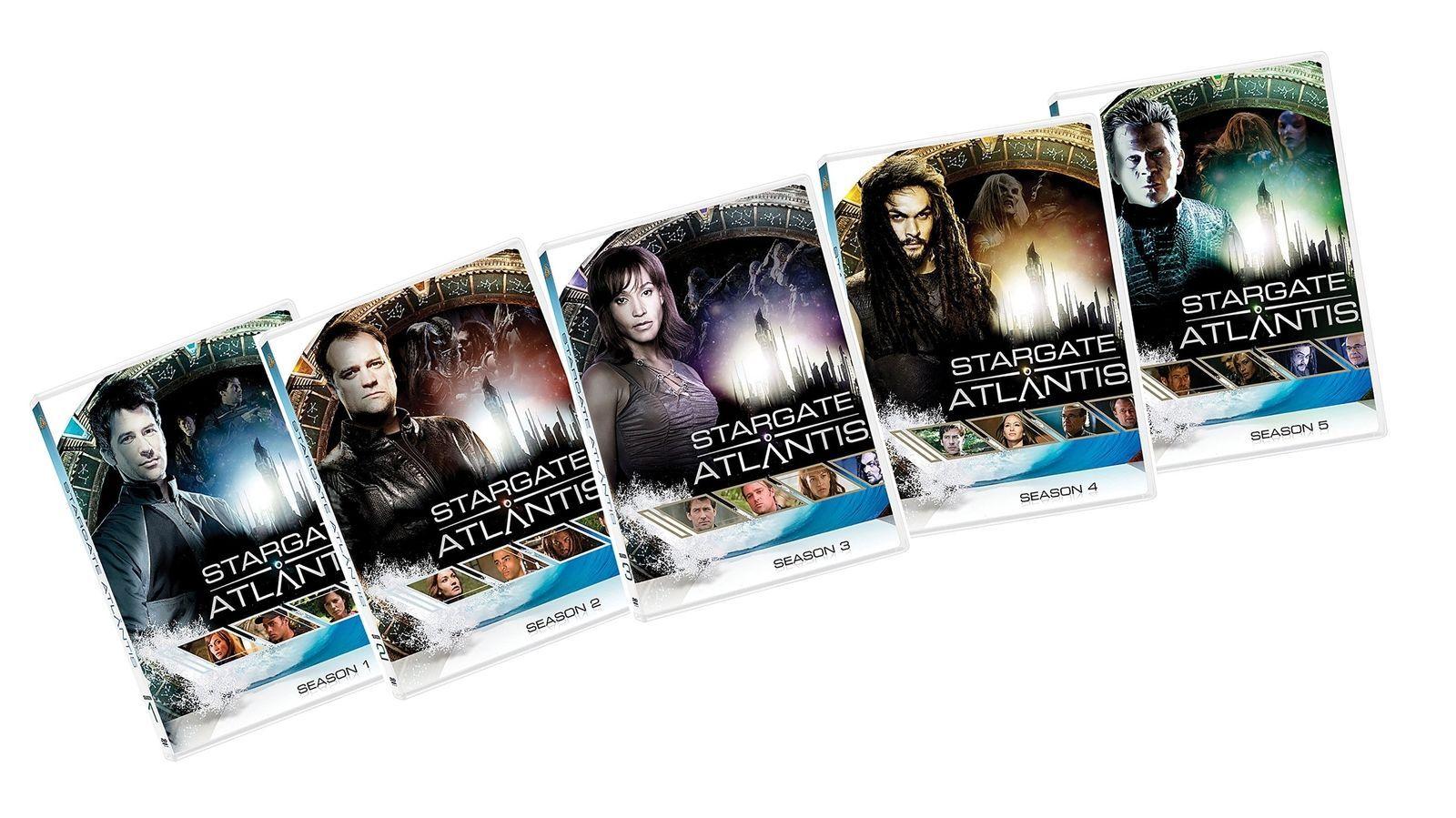 Stargate Atlantis: The Complete Series [DVD Sets New]