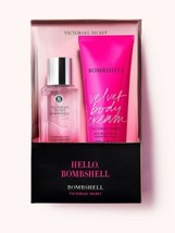 Victoria's Secret Bombshell Fragrance Set Fragrance Mist Velvet Body Cream  - $29.70