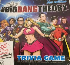 The Big Bang Theory Fan Edition Fact or Fiction Trivia Game NEW Sealed - $11.83