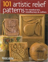 Woodcarving Pattern Book-101 Artistic Relief Patterns by Lora S. Irish - $13.96