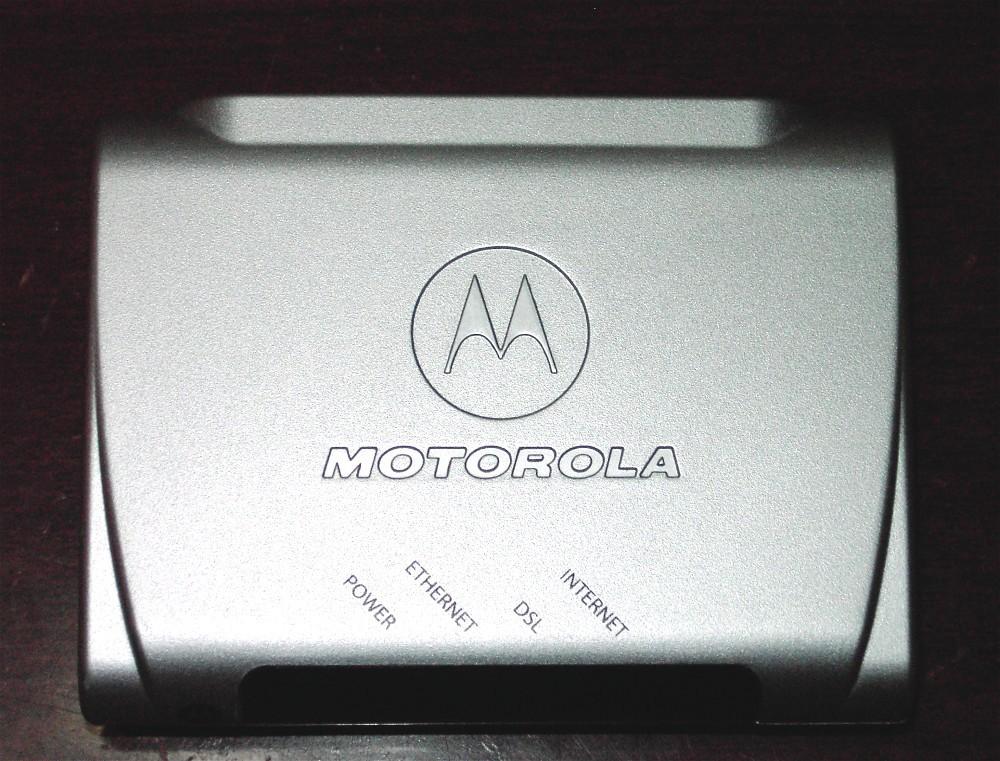 MOTOROLA AT&T DSL Modem 2210-02-10NA