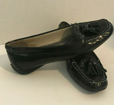 Sperry Top Sider Black Patent Leather Womens Size 7.5M Loafer Style Shoe - $24.26