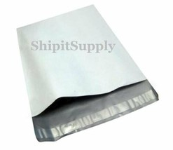 1-1000 6x9 White Poly Mailers Shipping Envelopes Bags Fast Shipping - $0.99+