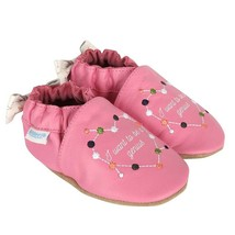 Robeez Soft Soles Baby Shoes I Want to be a Genius Baby Girl Shoe, Pink,... - $23.99