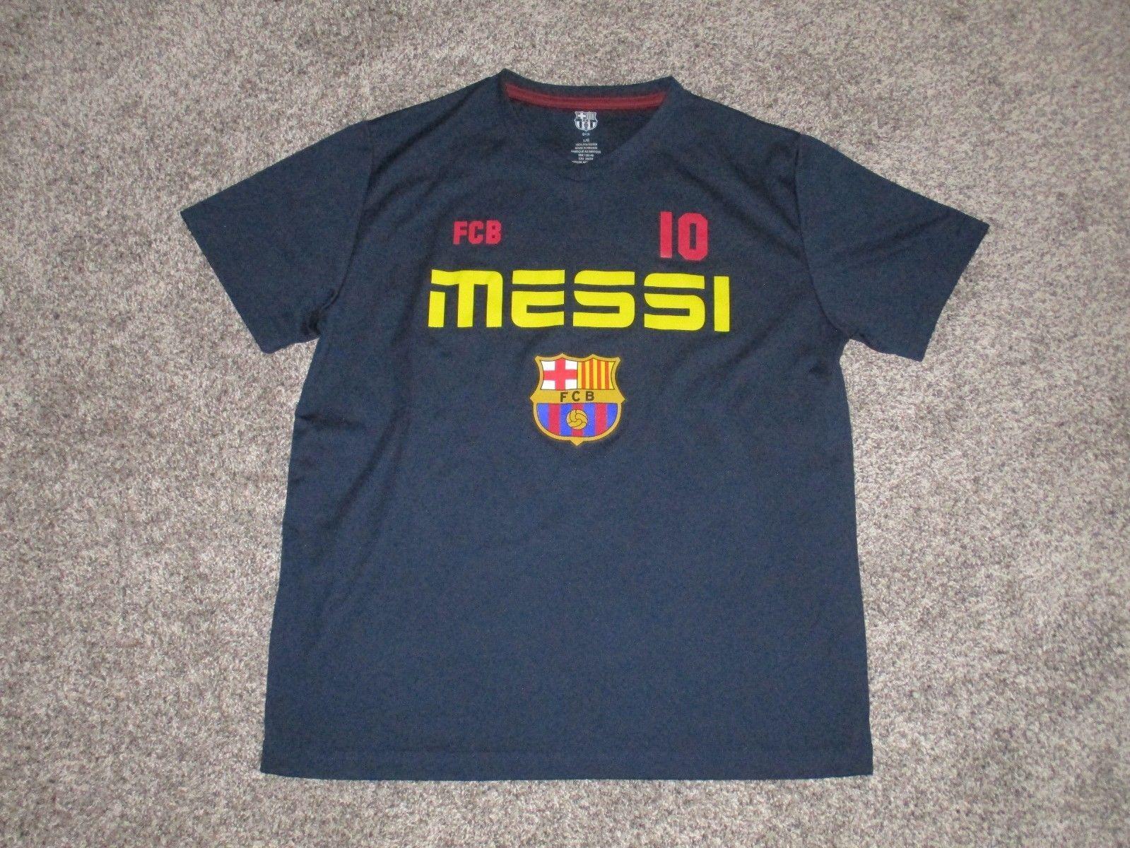 Messi  10 FCB Barcelona Soccer Shirt f2c438eb0