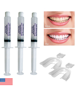 3 Professional 35% Teeth Whitening Gel Syringes + Two Thermoforming Tray... - $8.45