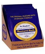 Dr. Singha's Mustard Bath, Therapeutic Bath Salts 2 oz 14 Pack - $50.02