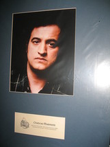 John Belushi photo matted with Chateau Marmont letterhead.(Place where he died) - $22.00