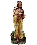"Ebros Native American Inca Indian Mother Cradling Baby Statue 10.5""Tall ... - $24.70"