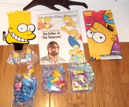 LOT Simpsons BRAND NEW LOT of items- GRAB BAG Promo bart head ornament + - $32.99