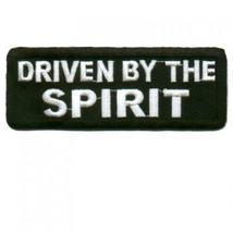 Embroidered Christian Patch Driven By The Spirit Patch - $3.95