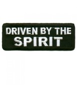 Embroidered Christian Patch Driven By The Spiri... - $3.95