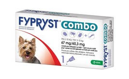 Fypryst Combo spot-on fleas ticks & worms treatment 2-10 kg small dogs 0... - €16,86 EUR