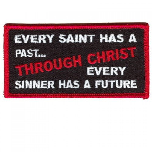 Embroidered Christian Patch Every Saint Patch