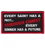 Embroidered Christian Patch Every Saint Patch - $3.95