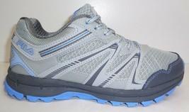 Fila Size 9 NORTHAMPTON Grey Light Blue Trail Sneakers New Womens Shoes - $88.11