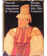 RUSSIAN JEWELLERY 16th-20th CENTURIES ALBUM ENGLISH - $199.99