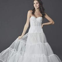 Women's Wedding Ball Gown Silhouette Slip Style image 1