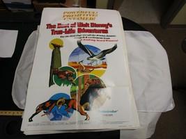 One Sheet Movie Poster Best Of Walt Disney's True-Life Adventures 1975 A... - $33.74