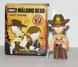 Walking Dead Bloody Rick Mystery Mini Figure Hot Topic Exclusive 1/24 - $32.60